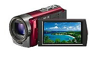 Black Sony HDR-CX130E Camcorder 30X Optical Zoom w/ Sony Travel Pouch