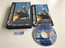 Battle Stations - Sega Saturn - PAL EUR - Avec Notice