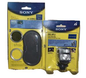 Sony HVL-HFL1 Handycam Cybershot Combination Video Light/Flash VF-37CPK Bonus