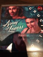 "ARMY OF LOVERS ""CRUCIFIED"" 2013 9 REMIX UNIVERSAL CD PROMO"