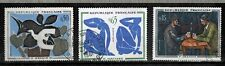 1961 - TIMBRES FRANCE OBL - TABLEAUX-PEINTURE-ART -Y/t.1319/21 - STAMP/USED(a19)