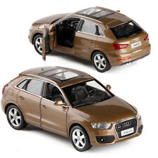 Audi Q3 1:32 Model Cars Toy Sound&Light Collection&Gifts Alloy Diecast Brown New