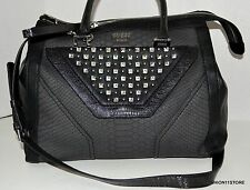 GUESS Tough Luv Black Crossbody Satchel Bag Purse Handbag Sac Bolsa NWT