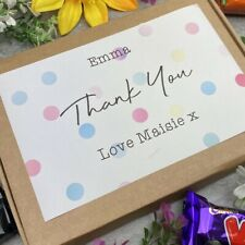 Thank You - Chocolate Box, Thank You Gift, Chocolate Hamper