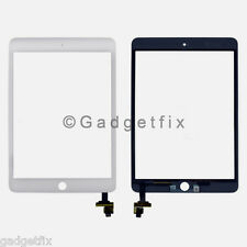 White Touch Screen Glass Digitizer + IC Flex Connector for Ipad Mini 3 3rd Gen