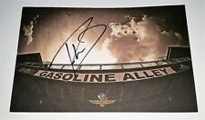 ROBERT WICKENS SIGNED INDIANAPOLIS 500 INDY CAR PROMO CARD AUTOGRAPHED