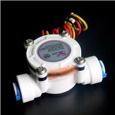 F018 G1/4 PE Water Flow Meter Sensor Switch Flowmeter Water Control 0.3-10L/min