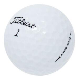 120 Titleist Tour Soft Near Mint Used Golf Balls AAAA