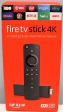 AMAZON FIRE TV STICK 4K WITH NEW ALEXA VOICE REMOTE STREAMING PLAYER, NEW IN BOX