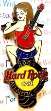 Hard Rock Cafe Atlantic City Bike Night Girl Pin #2 2004 HRC AC LE NEW # 23526