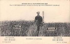 CPA 52 CHALINDREY EFFETS DE LA CIANAMIDE SUR BLE RENDEMENT A L'HECTARE CHEZ M.ME