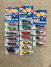 1995 HOT WHEELS First Editions Partial Set LOT OF 17 TRUCKS CARS STREET RODS