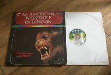 An American Werewolf In London  Laser Disc Film - Difficult to find