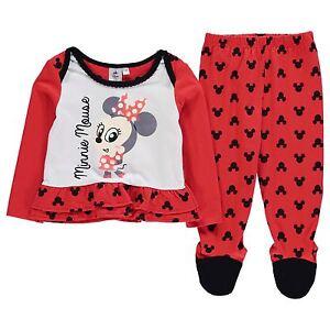 Disney Minnie Maus 2tlg. Set Kleid/Shirt + Hose Größe 62-92 Mädchen Kinder Micky