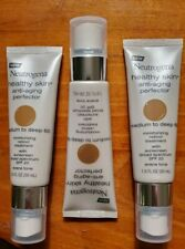 3 Neutrogena Healthy Skin Anti-Aging Spf 20 Retinol Treatment Med Deep #60 1oz