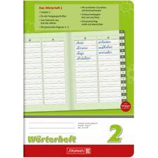 Brunnen Wörterheft A5 Lineatur 2