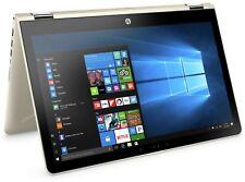 HP Pavilion x360 15.6 Inch Intel 2.3GHz 4GB 1TB 2-in-1 Windows Laptop - Gold