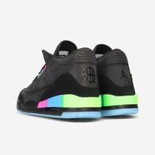 Baskets noirs pour homme Air Jordan 3 pointure 44