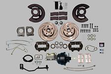 Ultra Complete 67-69 power assisted KH Ford MT Cougar 5 lug disc brake kit