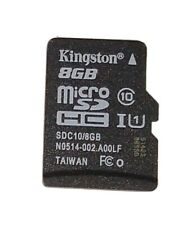 Kingston micro Sd microSd 8 Gb 8Gb Class 10 Class10 Memory Card Used Free Ship