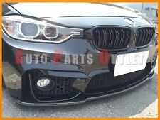 Universal Carbon Fiber Front Bumper Flat Add-on Lip For 15-17 F80 M3 & F82 M4