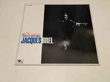 JACQUES BREL - DALL'OLYMPIA - LP GATEFOLD BARCLAY MADE IN ITALY - EX-EX  BL9034