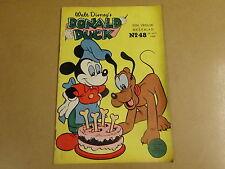 WALT DISNEY'S DONALD DUCK 1958 - N° 48
