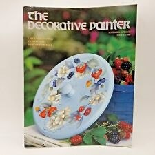 The Decorative Painter 1996 Issue 5 September October Carol Empet Flower Berries
