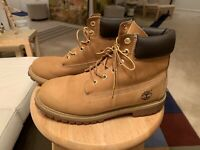 Genuine Timberland 12909 Tan Men's US7M Leather Dom Republic Gumsole Boots Shoes