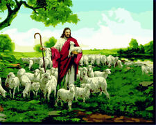 Jesus  Shepherd Painting Paint By Number Kits Home Wall Decor