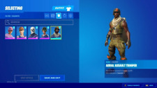 OG RARE Skull, aerial, Renegade Raider and Black knight FN account READ DESC