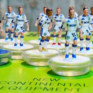Leeds United Home 20/21 Subbuteo team Handpainted And Decals