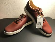 Adidas Golf Adipure SP Spikeless 33593 Mens Brown Leather Lace Up Shoes Size 10