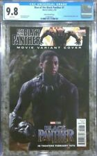 Rise of the Black Panther #1 Chadwick Boseman photo cover - CGC 9.8