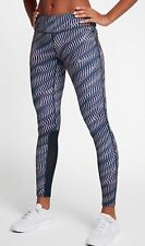 WOMENS NIKE EPIC RUN GRAPHIC TIGHTS SIZE XS (855626 655) MULTICOLOUR