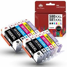 XXL Drucker Patronen für Canon PGI 580 CLI 581 Pixma TS6150 TR7550 TR8550 TS 705