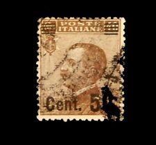 Italy 1923-27 King Victor Emanuel III /  Overprint / Used