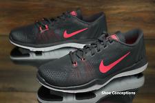 36b743a848c22 Nike Flex Supreme TR 5 Grey Hot Punch 885916-003 Women s Shoes Multi Size -