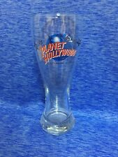 Planet Hollywood Atlantic City Pilsner Beer Drinking Glass