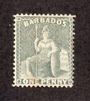 Barbados - SG# 74 MH / wmk crown CC (sm thin)      -     Lot 0320611