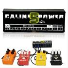 Caline 10CH Guitar Effect Pedal Power Adapter Supply 9/12/18V Output w/ Cable 5H