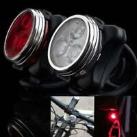 Bicycle Cycling Bike Head Front Rear Tail 3 LJʌ light USB Rechargeable 4 mode Jʌ