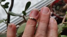 Handmade Vintage 14k. gold filled 1960s new stock ring size 5.4