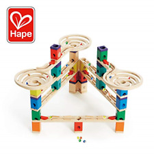 Hape Quadrilla Wooden Marble Run Construction - Vertigo - Quality Time Playing -