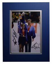 Jayne Torvill & Christopher Dean Signed Autograph 10x8 photo Ice Skating COA