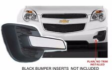 FRONT BUMPER FOG LIGHT INSERT CHROME TRIM FITS 2010 to  2015 CHEVROLET EQUINOX