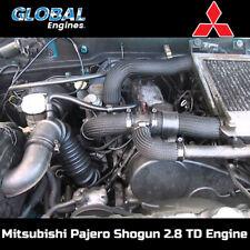 Mitsubishi Pajero Shogun Engine 2.8 TD 4M40 Engine Supply & Fit