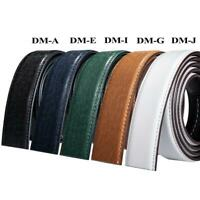 "26"" to 56"" 14 Styles Real Leather Mens Replacement Belts For Automatic Buckles"