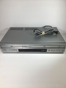 Sony SLV-D350P VCR VHS DVD Player Combo Hi-Fi VHS Silver TESTED No remote