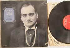 Caruso In Song  LP RCA Victor LM2778 VG+